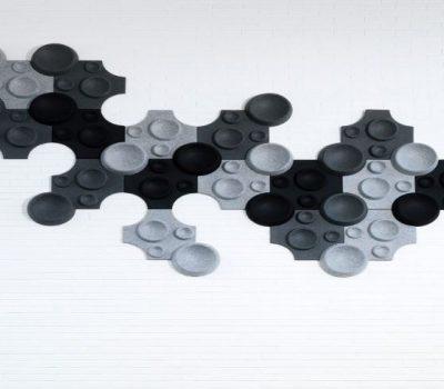 Polyesterové 3D panely